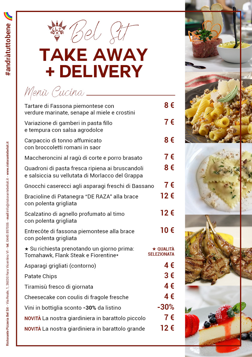 Bel Sit Delivery -Take Away3